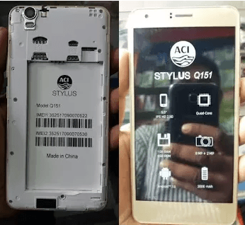 Aci Stylus Q151 Flash File