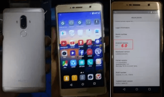 Huawei Clone Mate9 Flash File