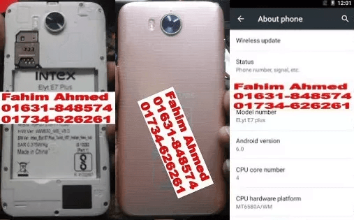 Intex Elyt E7 Plus Flash File