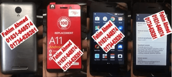 Itel A11 Flash File