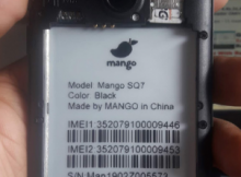 Mango SQ7 Flash File