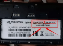 Micromax Q301 Flash File