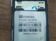 Motomax M35 Flash File