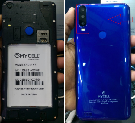 Mycell Spider V7 Flash File
