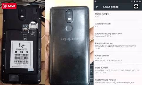 Oppo Clone FLY IQ777 Flash File