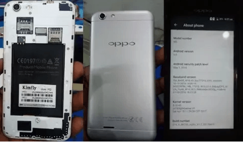 Oppo Kimfly M3 Flash File