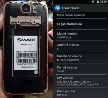Smart S-29 Flash File