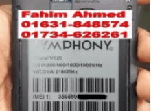 Symphony V120 Flash File