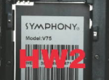 Symphony V75 Flash File