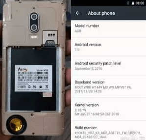 Agetel Ag8 Flash File