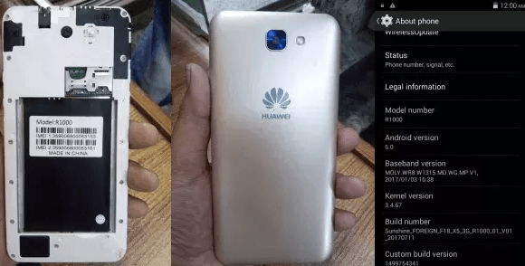 Huawei Clone R1000 Flash File