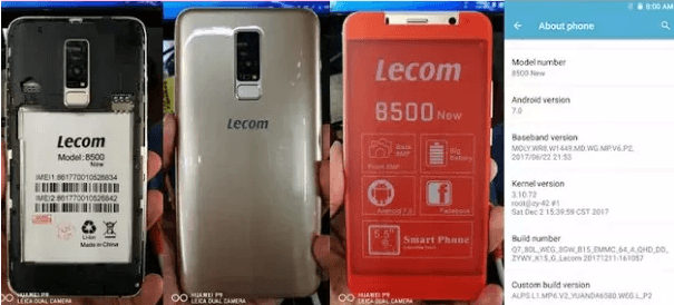 Lecom 8500 New Flash File