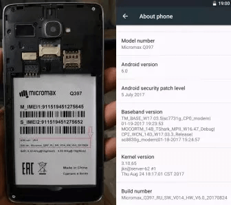 Micromax Q397 Flash File
