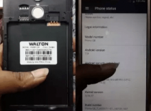 Walton Primo G8 Flash File