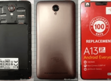 itel A13 Plus Flash File