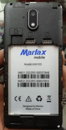 Marlax MX105 Flash File
