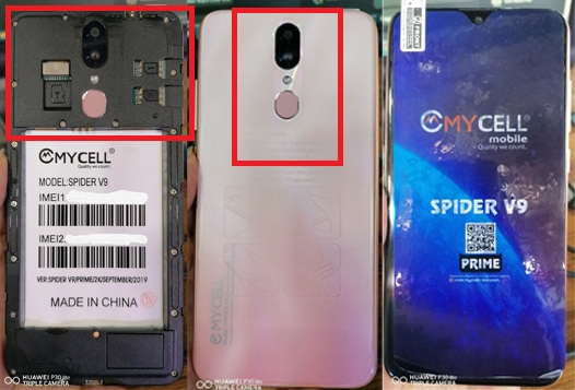 Mycell Spider V9 Flash File Firmware