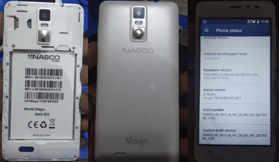 Nasco Magic NAS-502 Flash File
