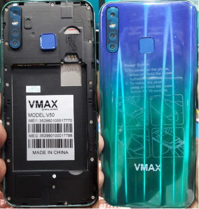 Vmax V50 flash file