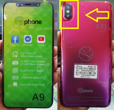 Gphone A9 A9+ A9 Prime Flash File