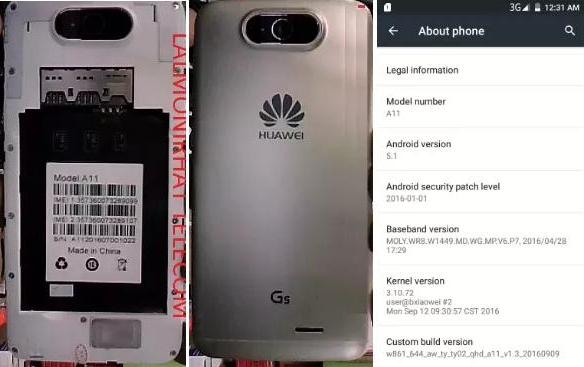 Huawei Clone A11 Flash File
