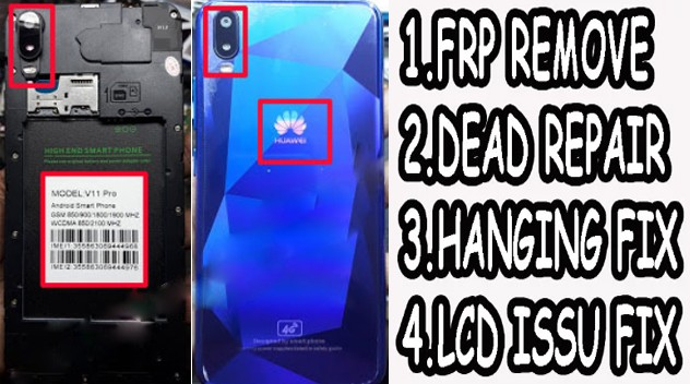 Huawei Clone V11 pro Flash File