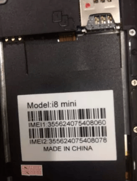 Huawei Clone i8 mini Flash File