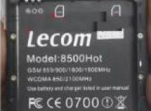 Lecom 8500 Hot Flash File