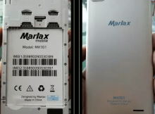 Marlax MX101 Flash File