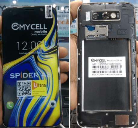 Mycell Spider A8 Flash File