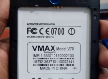 Vmax V70 Flash File