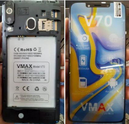 Vmax V70 flash file firmware