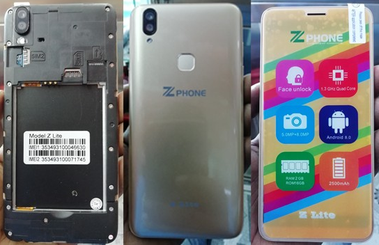 Zphone Z Lite Flash File
