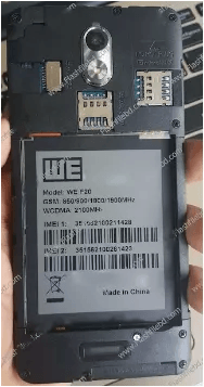 WE F20 Flash File