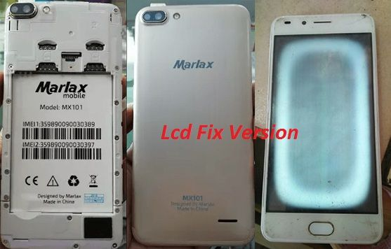 Marlax MX101 Flash File firmware