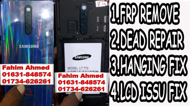 Samsung Clone LT770 Flash File Firmware
