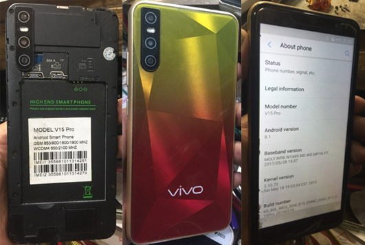 Vivo Clone V15 Pro Flash File Firmware