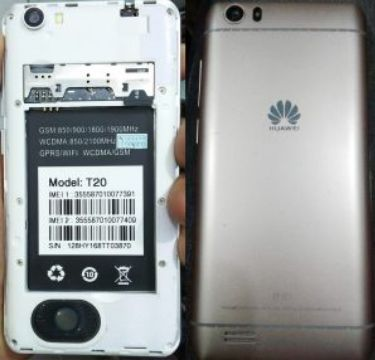Huawei Clone T20 Flash File Firmware