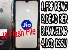 Jio J8 Flash File Firmware