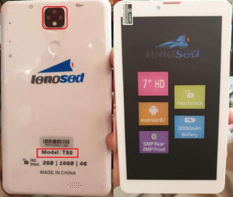 Lenosed Tab T80 Flash File Firmware