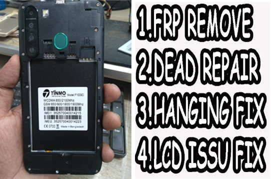 Tinmo F1009D Flash File Firmware