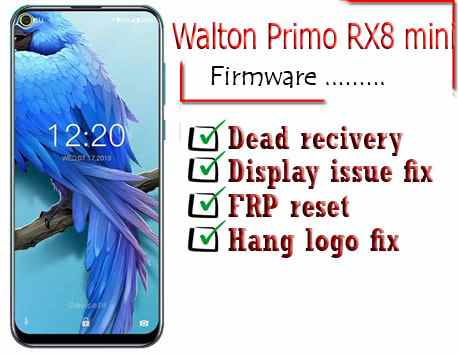 Walton Primo RX8 Mini Flash File Firmware
