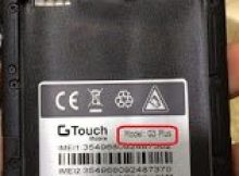 Gtouch G3+ Plus Flash File Firmware